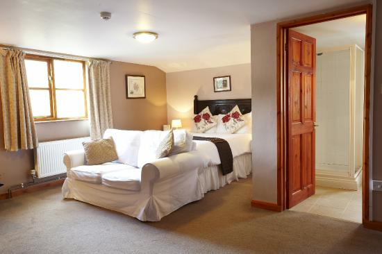 The Portway Inn: Superior double room