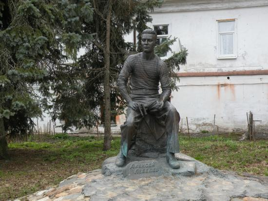 Aleksey Lebedev Statue
