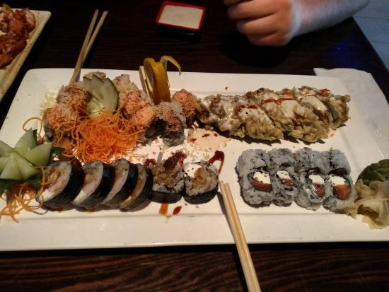 Fancy Q Sushi Bar & Grill: The best sushi around hands down
