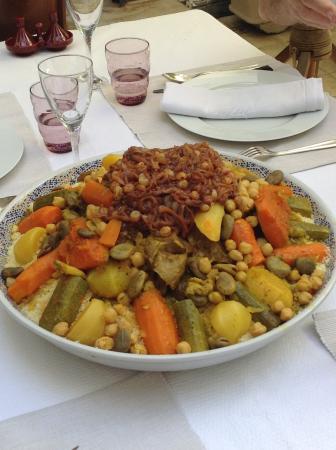 Riad Alma: Un des meilleurs couscous de marrakech