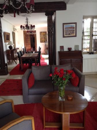 Riad Alma: Un interieur chic et calme