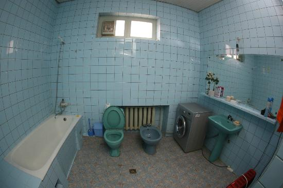 Dorm With 2 Single Beds And 1 Double Bed Hostel Old Lviv Common Bathroom