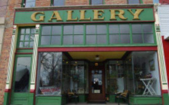 Art Gallery Downtown Rockville, Indiana