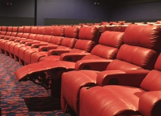 Luxury Recliners power, luxury recliners in every auditorium - picture of fox sun