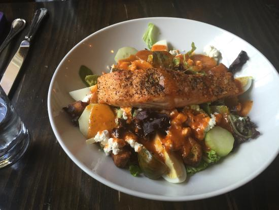 Dovetail Crafted Cuisine: Scottish Salmon Salad
