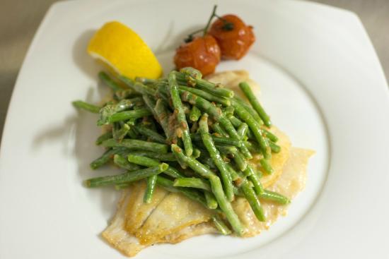 Villa Neptun - Hotel & Fischrestaurant: unser Essen