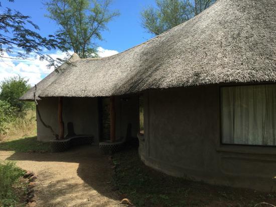 Munga Eco-Lodge : Outside bungalow