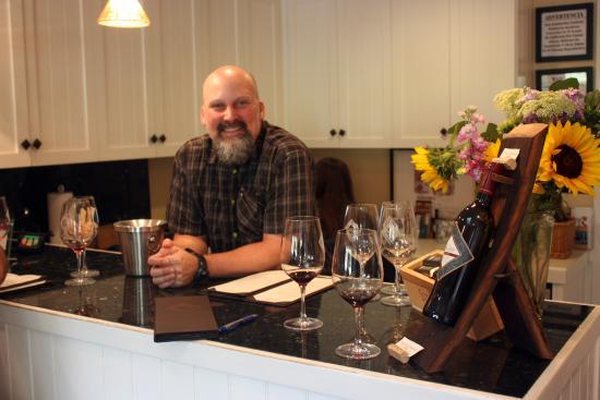 Von Strasser Winery: Inside the tasting room at von Strasser with host John DeGregory