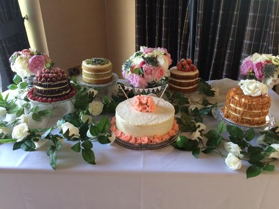 Our wedding cakes made by Jenny @ The Crosby Tea Rooms