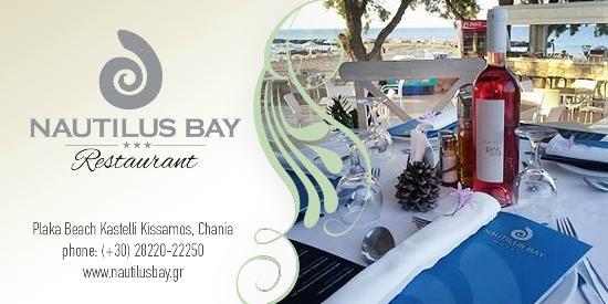 Nautilus Bay Hotel: Restaurant