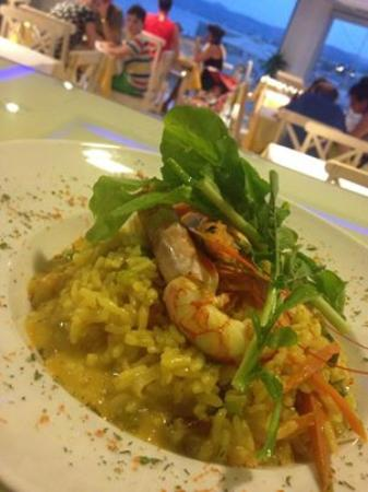 Nautilus Bay Hotel: Shrimp Risotto