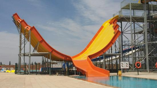 The water park on site