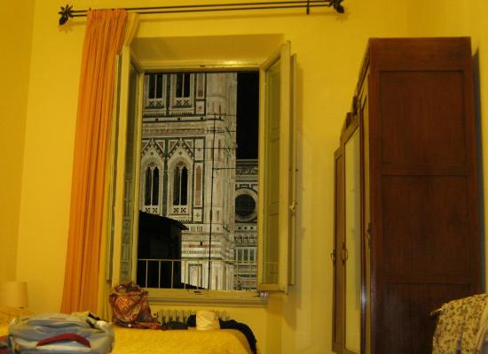 Hotel Villani: camera con vista