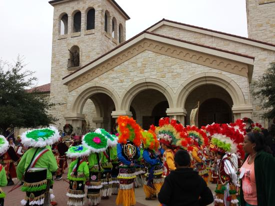 St. William Catholic Church: Feast of Our lady of Guadalupe.