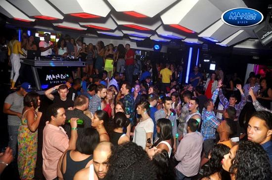 Mangu Disco: Party Time Latin Room