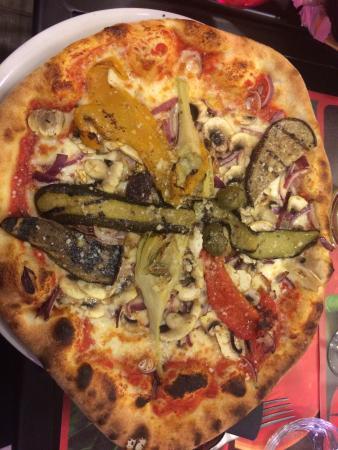 Italia e Sapore: Pizza végétarienne TOP