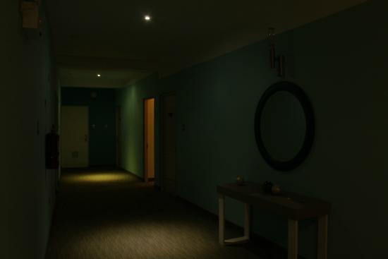 Maresta Lodge : Pasillos del hotel