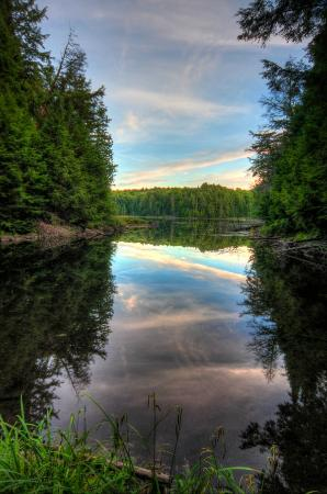 Hemlock Bluff Trail - Algonquin Provincial Park