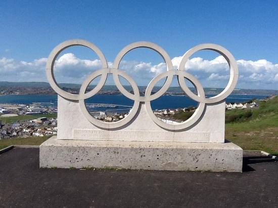 Weymouth (เมืองเวย์มุธ), UK: Olympics were here don't forget