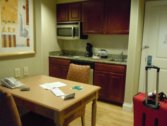 kitchenette picture of homewood suites by hilton palm