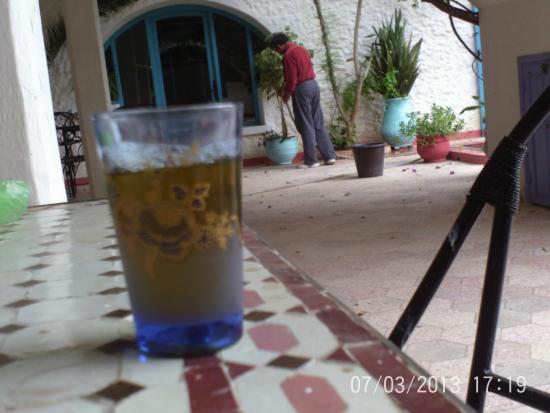 Riad Tamayourt: Le patio