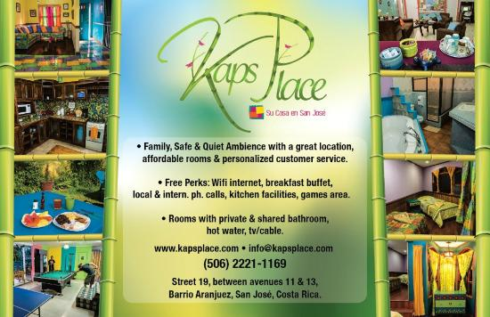 Kaps Place: KAPS FLYER!!! WE LOVE YO SERVE YOU