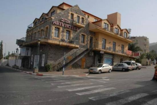 Hotel Aviv : The building