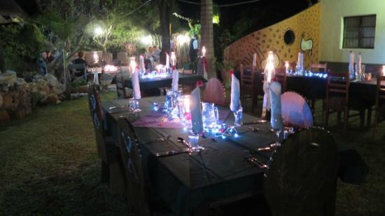 Vreugde Guest Farm: Magical evening outside