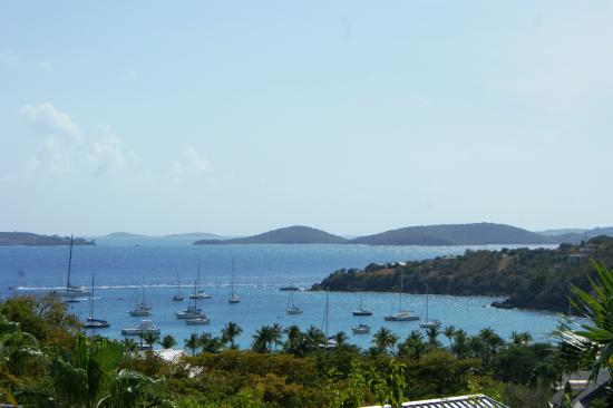 The Westin St. John Resort Villas: View from our Terrace