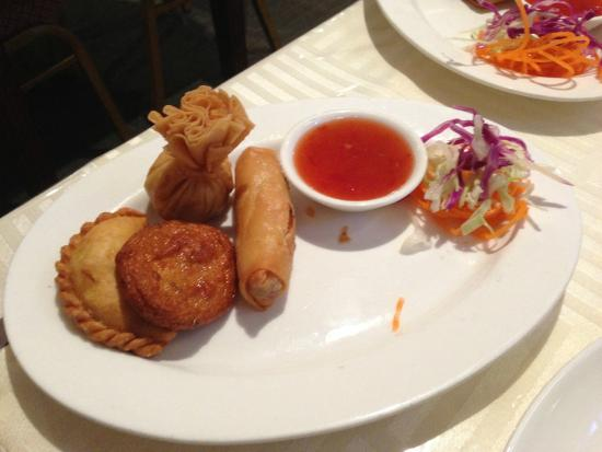 King Tiger Thai: Taster place entre