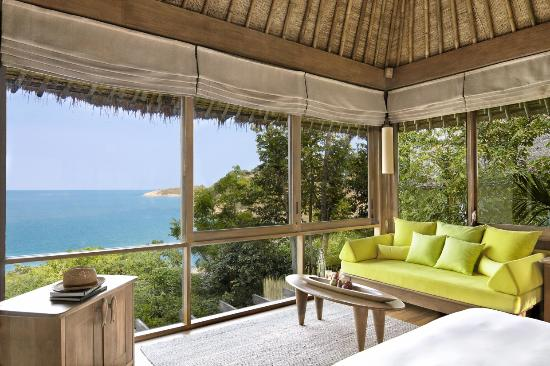 Six Senses Samui: Ocean View Pool Villa Interior