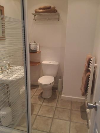 Foss Bank Guest House: Shower/Toilet