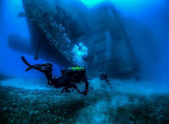 Larnaka City, Cyprus: Zenobia Wreck, by Pantelis Kranos