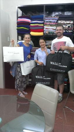 Wall Street Tailors : Shopping Bags