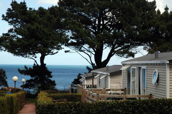 Camping Sandaya Le Ranolien: MobilHome vue mer
