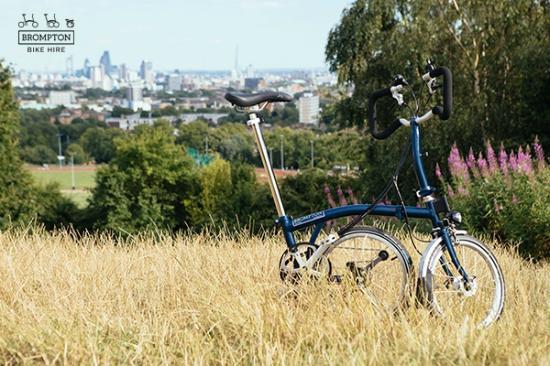 Brompton Bike Hire - Ashford International