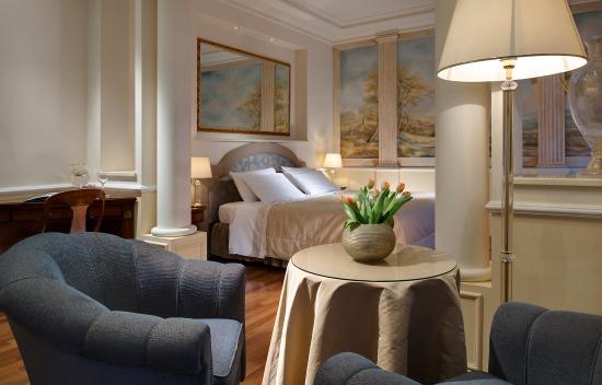 Hotel Europa Terme: Camera Junior Suite