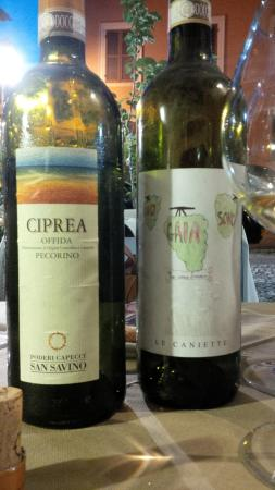 Cantina de' Corvi : una tavola senza vino, un giono senza sole