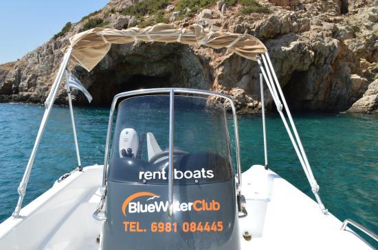 Blue Water Boats >> Blue Water Club Rent A Boat Agia Pelagia Kreikka Arvostelut