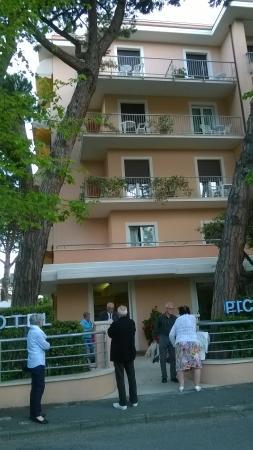 Hotel Piccolo Mondo : facciata dell'hotel
