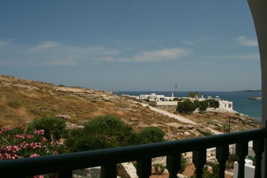 Adonis Hotel & Apartments: La vista dal balcone