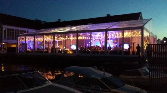 Scandic Havna Tjome: Event on the pier