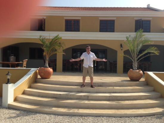 The front of Wanapa Lodge