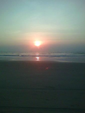 Beautiful Sunset on Varca Beach.