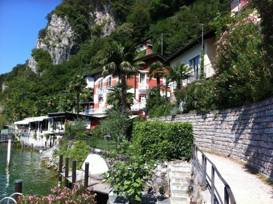 Hotel Elvezia al Lago : idyllisch gelegenes Hotel