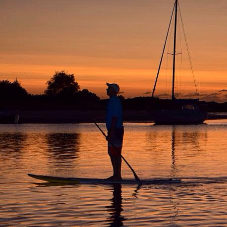 Tony Begg - Stand Up Paddle