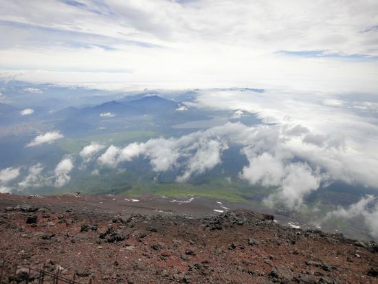 Vue du sommet - Picture of Mount Fuji, Chubu - TripAdvisor
