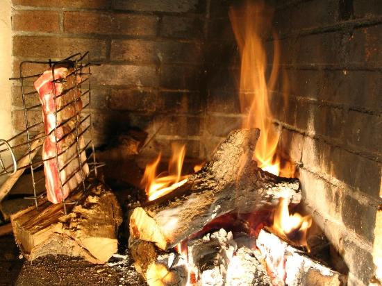 Feu de bois Picture of L'Escale, Saint Lo TripAdvisor # Restaurant Feu De Bois