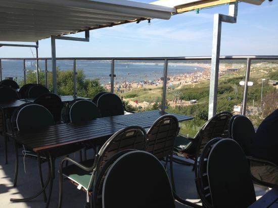 Restaurang Paradiso: Utsikt från takterassen