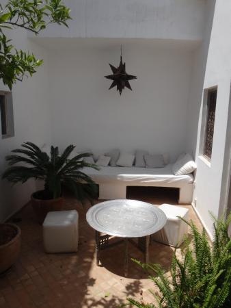 Riad O2: Terrasse privative d'une des chambres